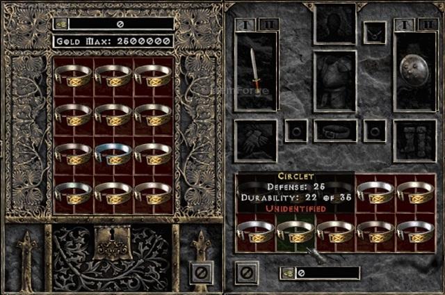 Diablo  Crafted Circlet