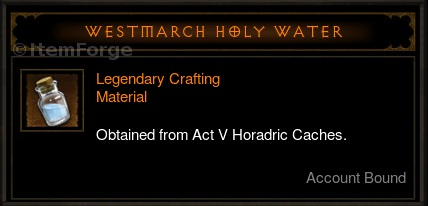 Access Crafting Materials Diablo