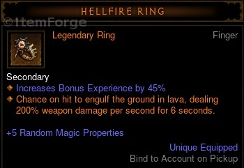 Hellfire Ring Diablo  Season