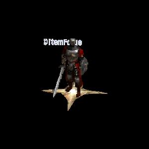 Diablo 2 Merc A3 Lawbringer look (aura)