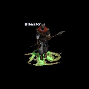 Diablo 2 Merc A2 Infinity look (aura)