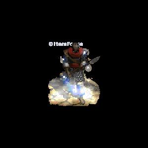 Diablo 2 Merc A2 Insight look (aura)