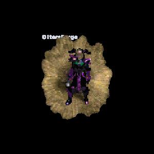 Diablo 2 Sorc Tal Rasha (MF) look (aura)