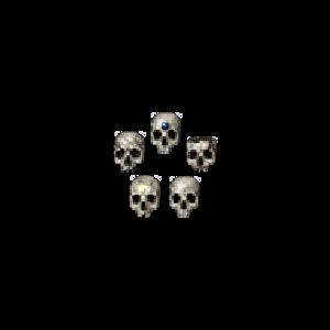 Diablo 2 Skull look (icon)