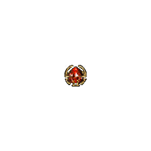 Diablo 2 Jewel Res / IAS look (icon)