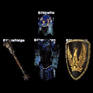 Diablo 2 Milabrega's Regalia look (icon)