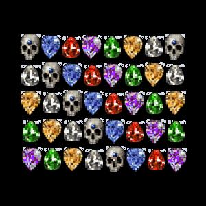 Diablo 2 40 Perfect Gems look (icon)